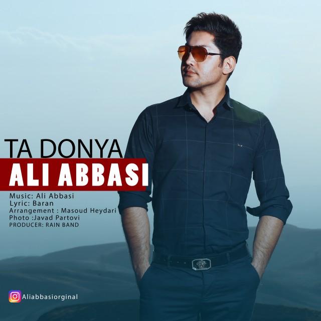 نامبر وان موزیک | دانلود آهنگ جدید Ali-Abbasi-Ta-Donya