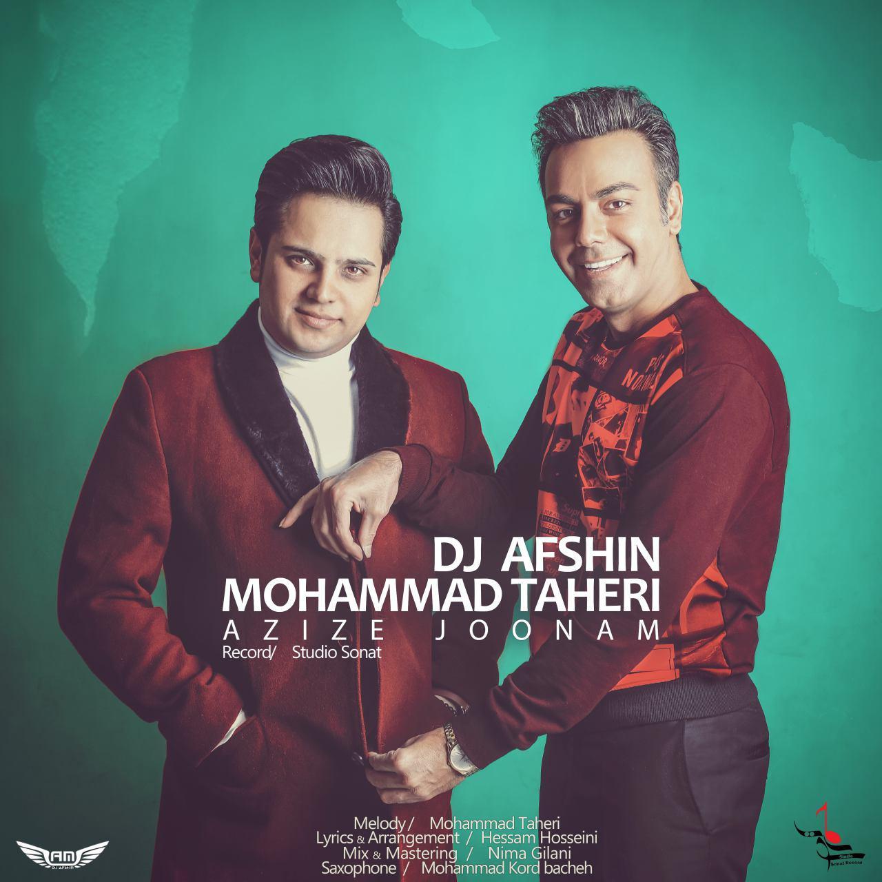 نامبر وان موزیک | دانلود آهنگ جدید Mohammad-Taheri-Ft-Dj-Afshin-Azize-Joonam
