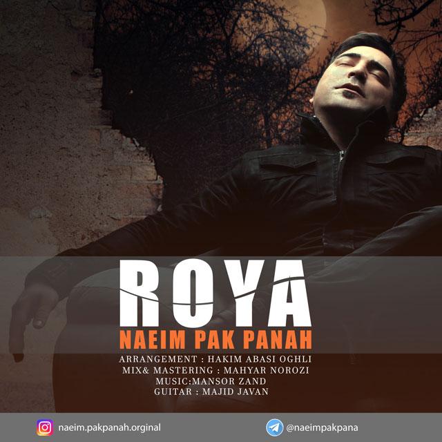 نامبر وان موزیک | دانلود آهنگ جدید Naeim-Pakpanah-Roya