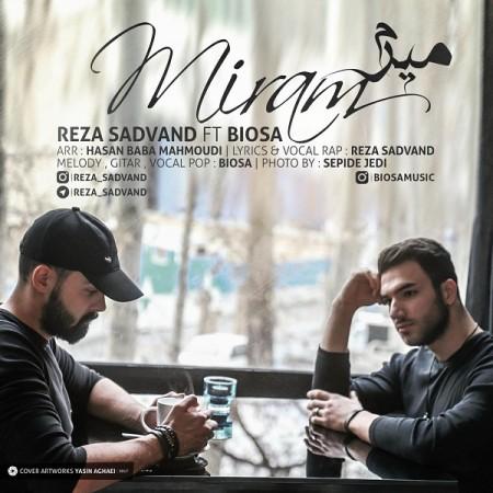 نامبر وان موزیک | دانلود آهنگ جدید Reza-Sadvand-Ft-Biosa-Miram-450x450