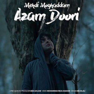 نامبر وان موزیک | دانلود آهنگ جدید Mehdi-Moghaddam-Azam-Doori-300x300