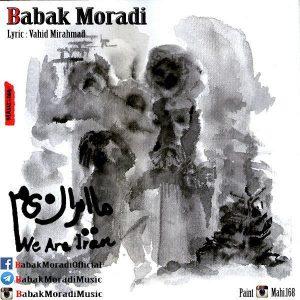 نامبر وان موزیک | دانلود آهنگ جدید Babak-Moradi-Ma-Iranim-300x300
