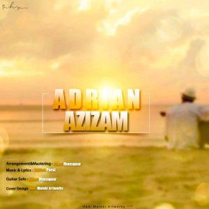 نامبر وان موزیک   دانلود آهنگ جدید Adrian-Azizam-300x300