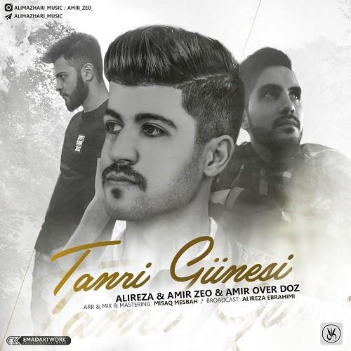 نامبر وان موزیک | دانلود آهنگ جدید Alireza-Amir-Zeo-Amir-Overdoz-Tanri-Güneşi