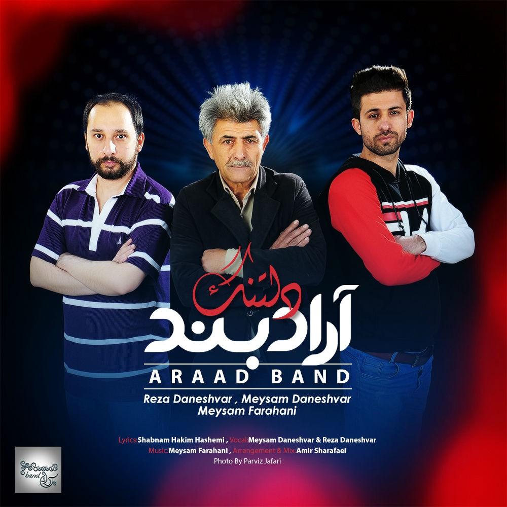 نامبر وان موزیک | دانلود آهنگ جدید Araad-Band-Deltang