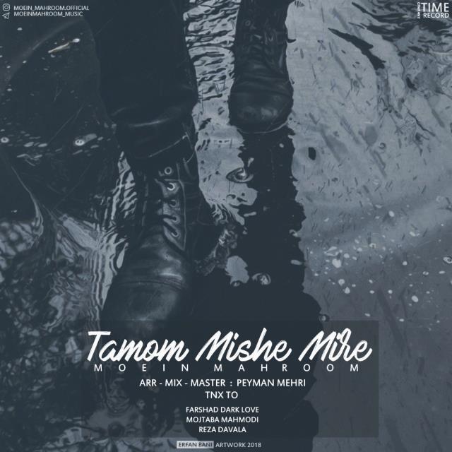 نامبر وان موزیک | دانلود آهنگ جدید Moein-Mahroom-Tamom-Mishe-Mire