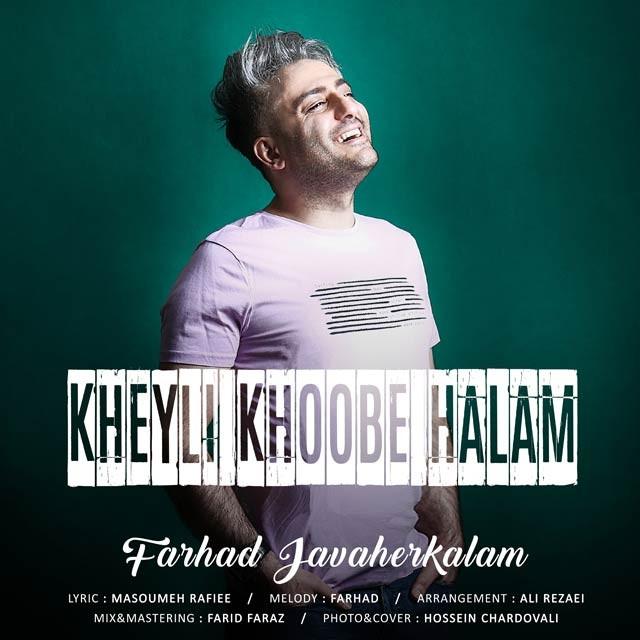 نامبر وان موزیک | دانلود آهنگ جدید Farhad-Javaher-Kalam-Kheyli-Khoobe-Halam