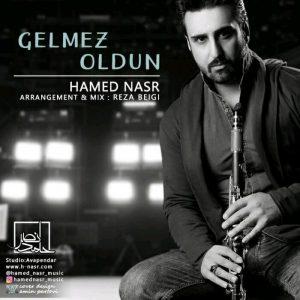 نامبر وان موزیک | دانلود آهنگ جدید Hamed-Nasr-Gelmlez-Oldun-300x300