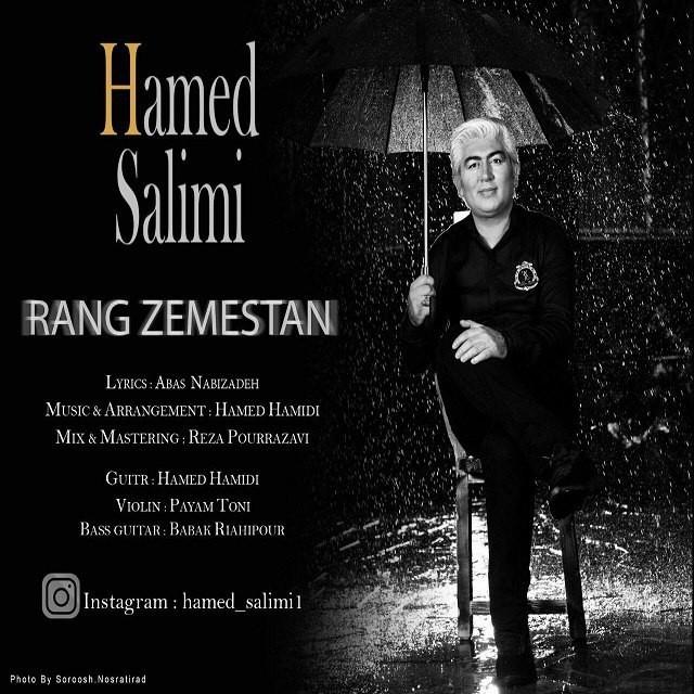 نامبر وان موزیک | دانلود آهنگ جدید Hamed-Salimi-Rang-Zemestan
