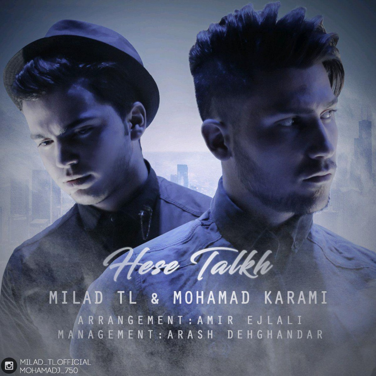 نامبر وان موزیک | دانلود آهنگ جدید Milad-TL-Hese-Talkh-Ft-Mohmmad-Karami