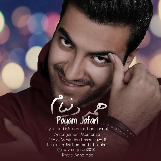 نامبر وان موزیک | دانلود آهنگ جدید Payam-Jafari-Hame-Donyam