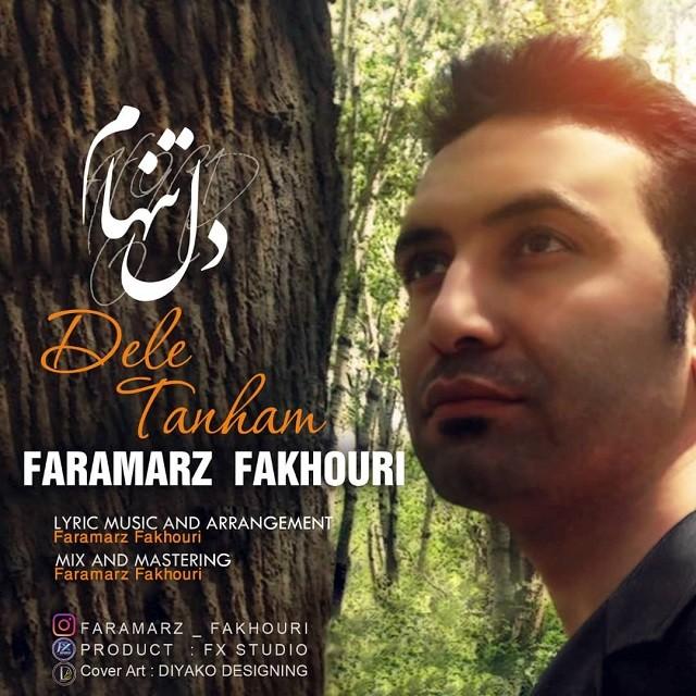 نامبر وان موزیک | دانلود آهنگ جدید Faramarz-Fakhouri-Dele-Tanham