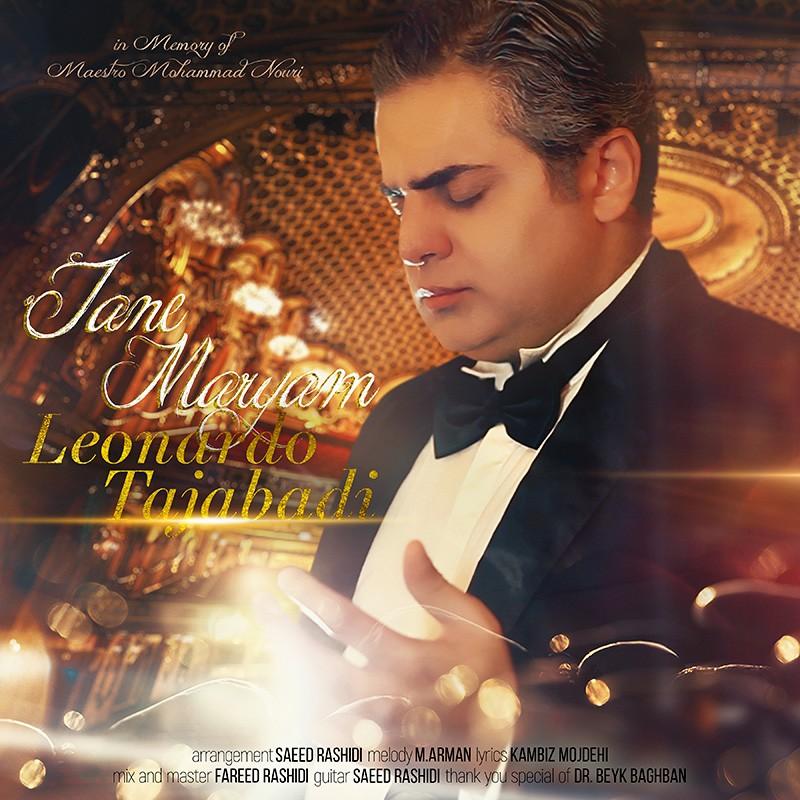 نامبر وان موزیک   دانلود آهنگ جدید Leonardo-Tajabadi-Jane-Maryam
