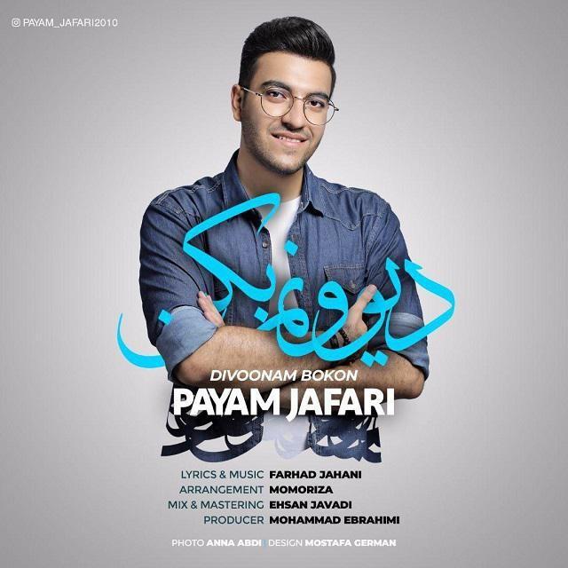 نامبر وان موزیک | دانلود آهنگ جدید Payam-Jafari-Divoonam-Bokon