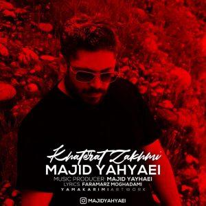 نامبر وان موزیک | دانلود آهنگ جدید Majid-Yahyaei-Khaterat-Zakhmi-300x300