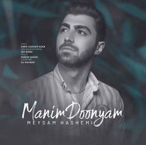 نامبر وان موزیک | دانلود آهنگ جدید Meysam-Hashemi-Manim-Doonyam-300x298